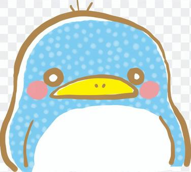 Collected animals face penguin