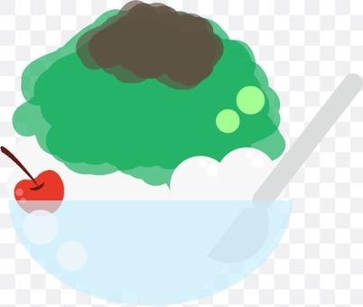 刨冰(宇治抹茶)