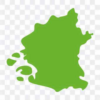 大阪市:地方地図