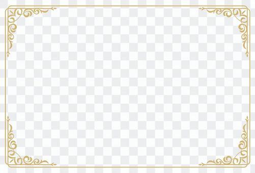經典裝飾裁決4明信片大小