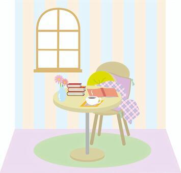 咖啡廳和書