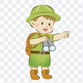 子供探検隊