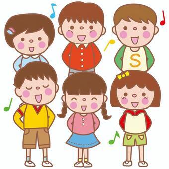 合唱團或合唱團(小學生)