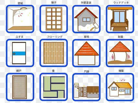 Reform (exterior and interior) set