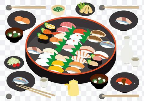 壽司簡單設置 4