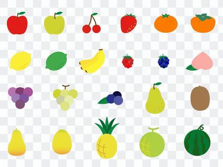 簡單的水果各種