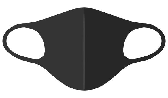 口罩尿烷口罩黑色