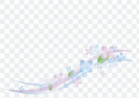 雨季材料019繡球花