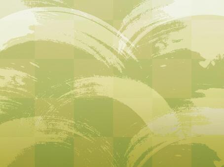 紋理日式折疊屏幕墨水