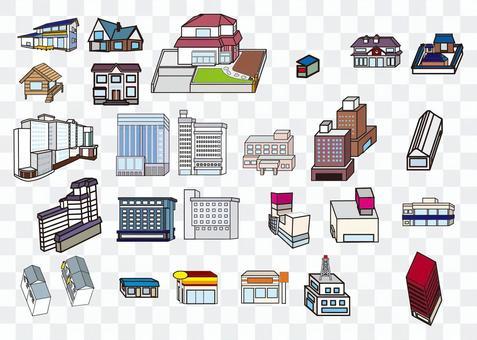 各種建築物