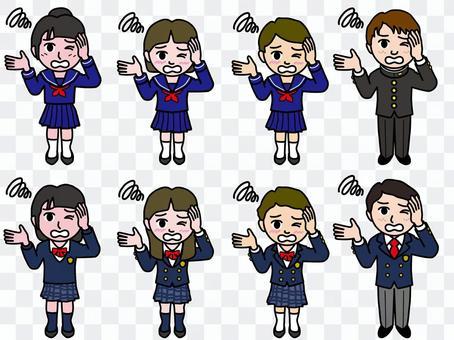 Ichi A_初中和高中學生的整個身體11_失敗