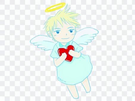 天使心02(藍色)
