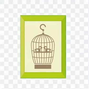 壁掛式(鳥籠)