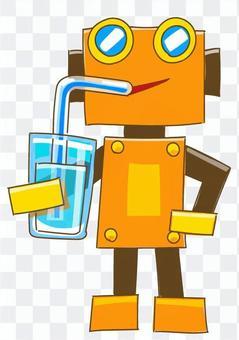 機器人飲用水1
