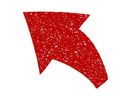 用作地標的箭頭(郵票樣式)