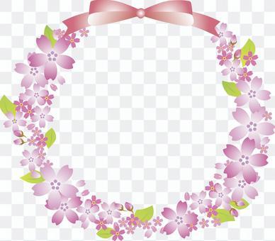 花框架櫻桃樹