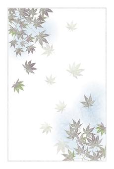 暗楓明信片框螞蟻