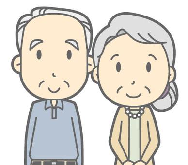 老夫婦 - 站起來 - 胸圍