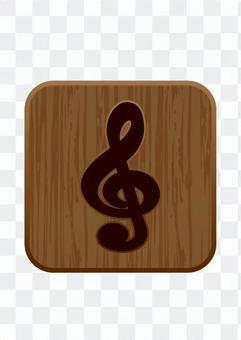 Tora sign - woodgraining