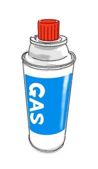 Gas cylinder 5 (color)