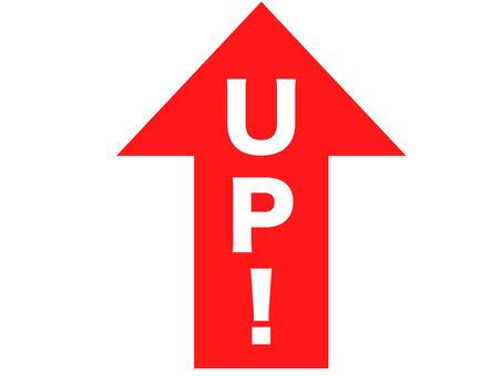 UP! Arrow icon
