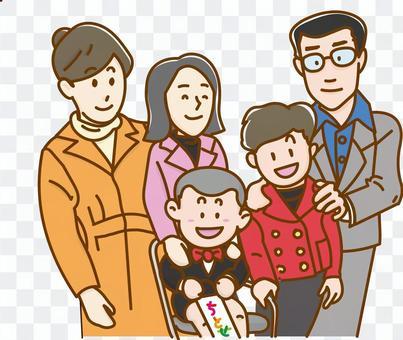 家庭紀念照