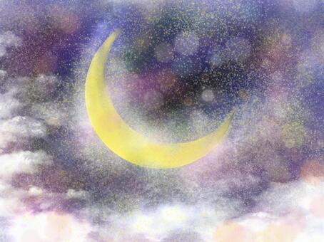 Crescent moon dream