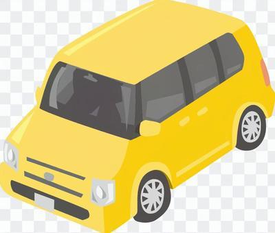 軽自動車 黄色