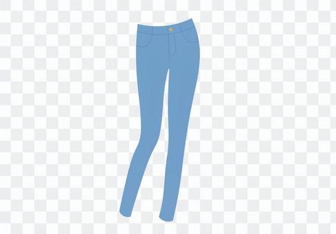 牛仔褲模型