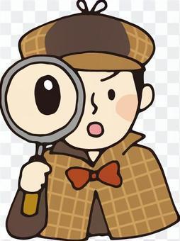 偵探(放大鏡)
