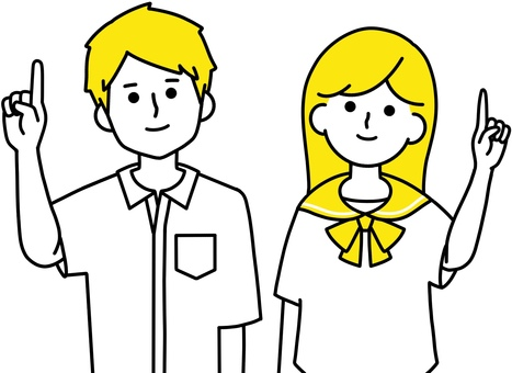 學生食指制服整齊設計