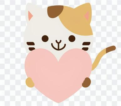 Heart's Cat