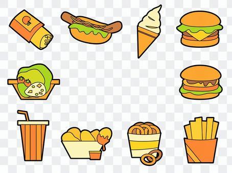 Hamburger Shop (main line is available)