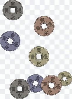 古銭 昔 貨幣 硬貨 江戸