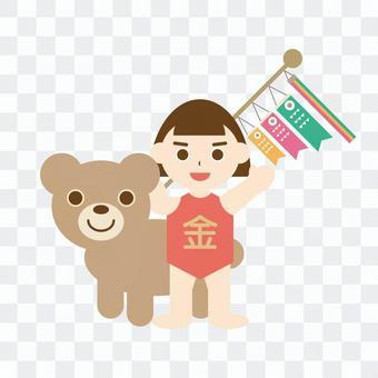 探戈的世界(金太郎和熊)