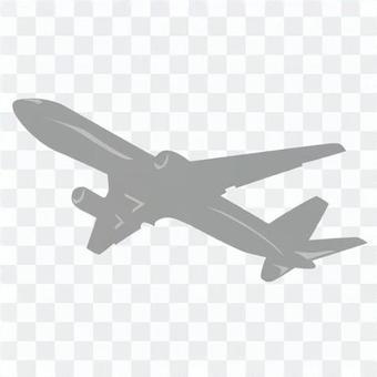 Airplane gray
