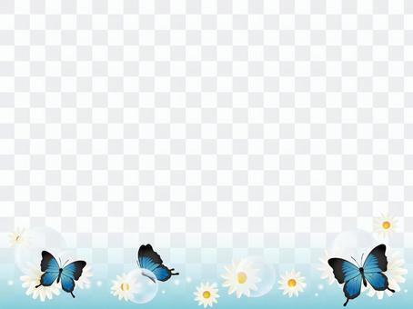 蝴蝶裝飾框架