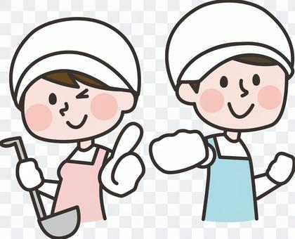 烹飪男人和女人01