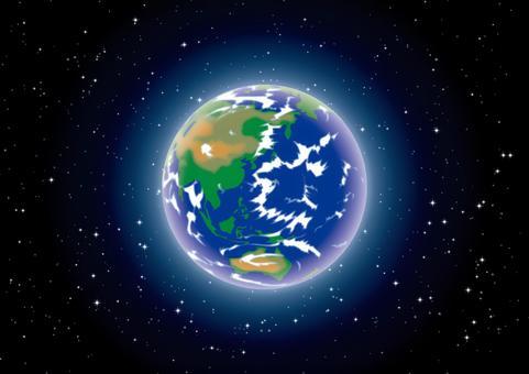 地球 宇宙 星空 壁紙