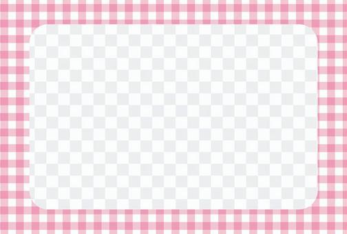 檢查相框POSCA 02 [透明]