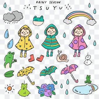 雨季_插圖集