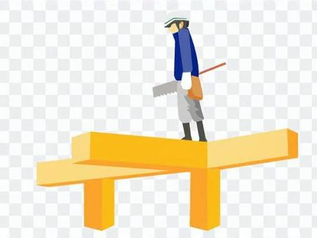建築工地的木匠