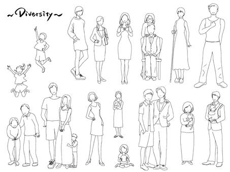 Diversity_line 繪圖集