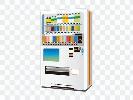 自動售貨機(白色)