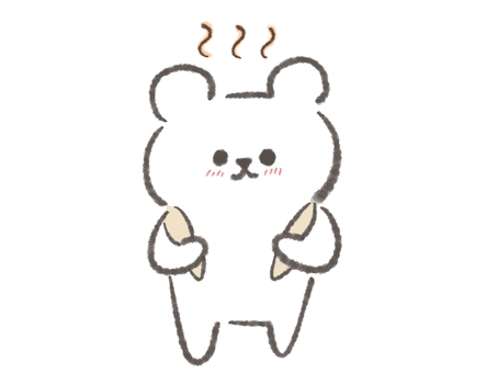Bear after bath