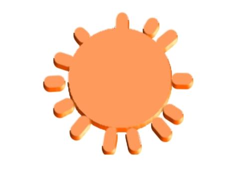 Three-dimensional sun