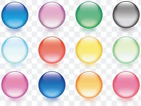 清除球形玻璃