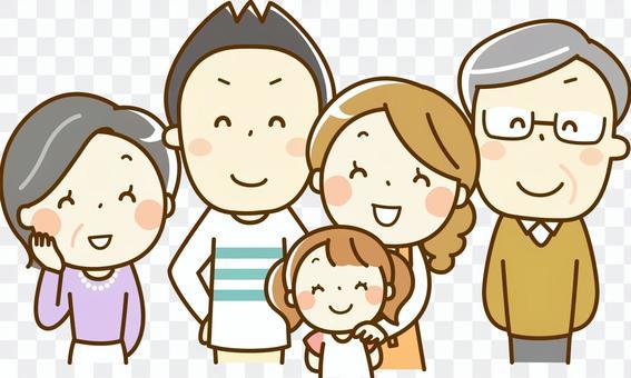 三世代_5人家族