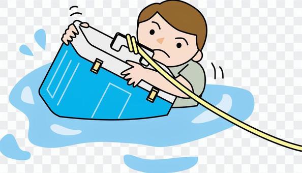 水事故預防訓練冷藏箱