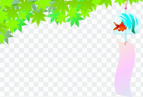 風鈴和楓木